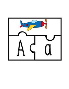 Casse-tête de l'alphabet