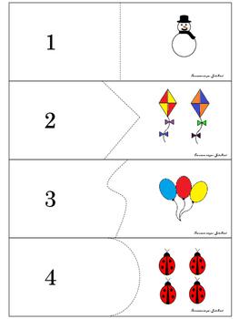 Casse-tête de nombre / Numbers jigsaw