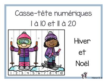 Casse-tête numériques (Winter and Christmas)