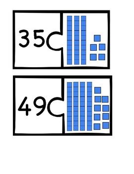Casse-tête pour les nombres à 2 chiffres