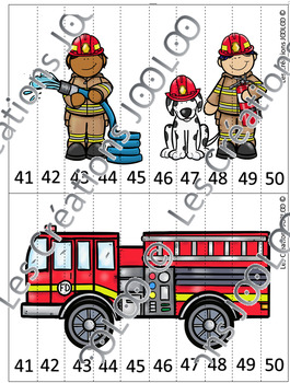 Casse-têtes 0-60 - Pompiers