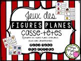 Casse-têtes - Figures planes (2D Shapes Puzzle)
