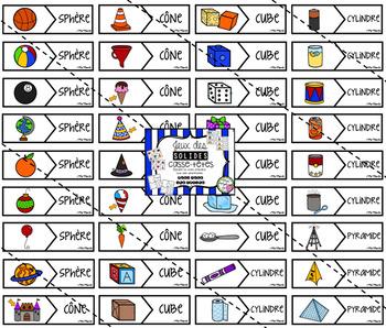 Casse-têtes - Solides (3D Shapes Puzzle)