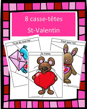 Casse-têtes - St-Valentin
