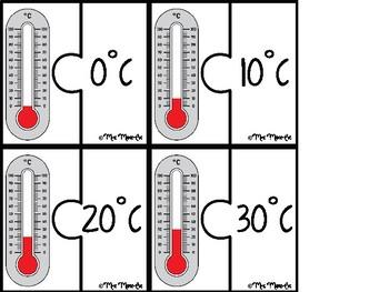 Casse-têtes - Température (Temperature Puzzle)