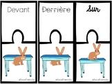 Casse-têtes des prépositions/ Puzzle prepositions french