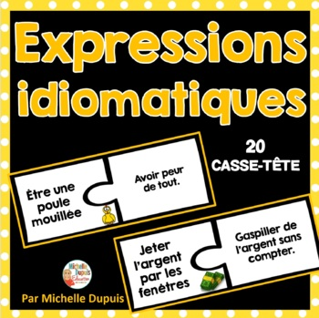 Casse-tête d'expressions idiomatiques
