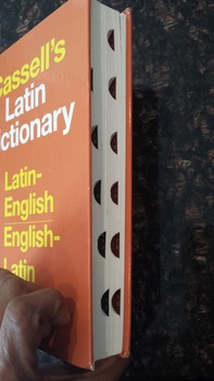 Cassell's Latin English Dictionary 5th Edition Language Reference HC (EXL)