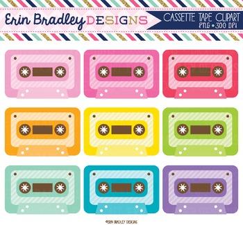 Cassette Tape Music Clipart