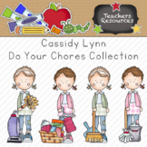 Cassidy Lynn Do Your Chores Clipart Collection || Commercial Use Allowed