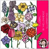 Floral clip art- by Melonheadz