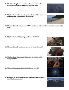 Cast Away Film (2000) Study Guide Movie Packet