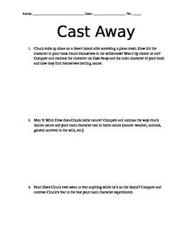 Cast Away Movie Worksheet