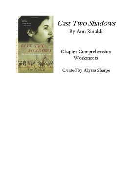 Cast Two Shadows by Ann Rinaldi