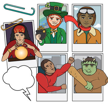 Cast of Characters II Clip Art
