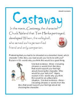 Character Analysis:Castaway