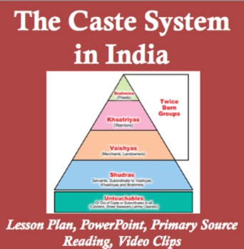 caste system in india lesson plan by living history tpt. Black Bedroom Furniture Sets. Home Design Ideas