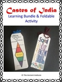 Castes of India: Foldable Project, Video, Writing Assignment & Guided Reading