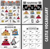 Castle Bingo / Matching Activities Set