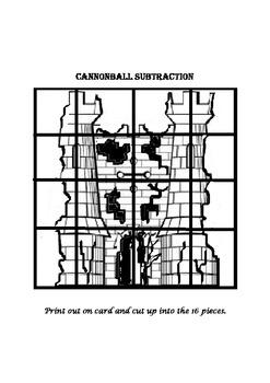 Castle Cannonball Subtraction