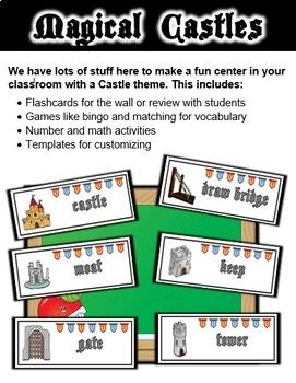 Castle Classroom Center Activity Sets