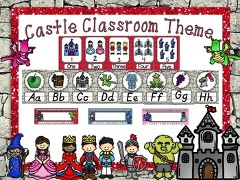 Castle Classroom Theme Pack