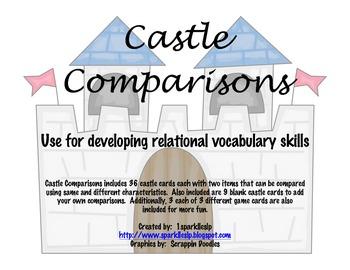 Castle Comparisons:  A Relational Vocabulary Activity