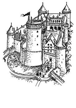 Castle Defences Word Search
