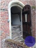Castle Door Stock Photo