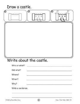 Castle (Draw...Then Write)