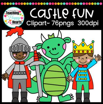 Castle Fun Clipart