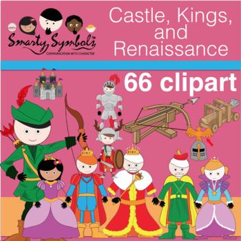 Castle, Kings, and Renaissance Set: 47 PNG Images