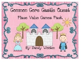 Castle Quest Differentiated Place Value Small Group or Math Station Games