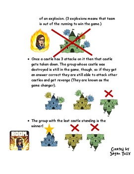 Castle Review Game