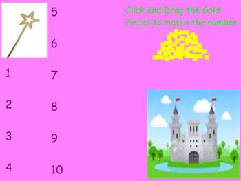 Castle Tens and Ones (Place Value) Mimio