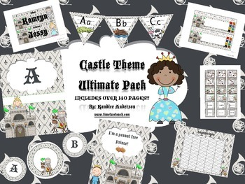 Castle Theme {Ultimate Decoration Pack}