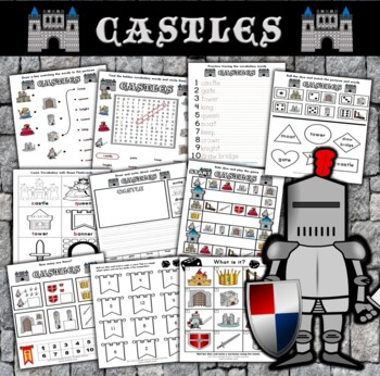 Castle Themed Activity Set