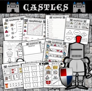 Castle Themed Activity Set