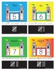 Castle-Themed Pocket Card Numbers 1-20