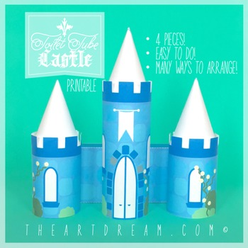Castle Toilet Tube Craft