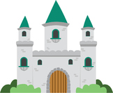 Castle clip art {FREEBIE!}