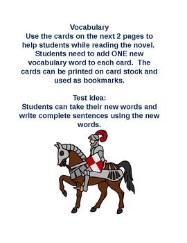 Castle in the Attic: Vocabulary Cards