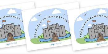 Castles & Knights Alphabet Arc (Phase 1)