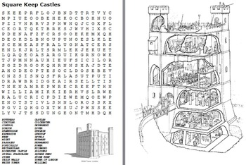 Castles Word Search Pack