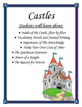Castles and Knights Lapbook