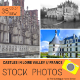 Castles in the Loire Valley -- France --- Stock Photos