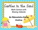 Castles in the Sand! Hands-On Missing Addends Center, Diff