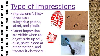 Casts and Impressions Power Point Presentation