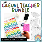 Casual Teacher / Relief Teacher Resource BUNDLE {substitute, new teacher}