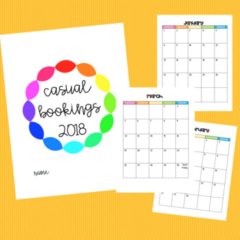 Casual Relief Teaching Bookings